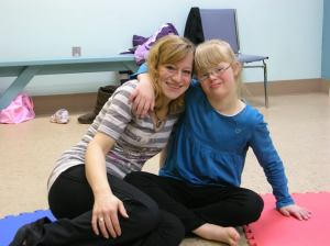 Here's a picture of Amy (right) from our very first year of danceability back in 2007.